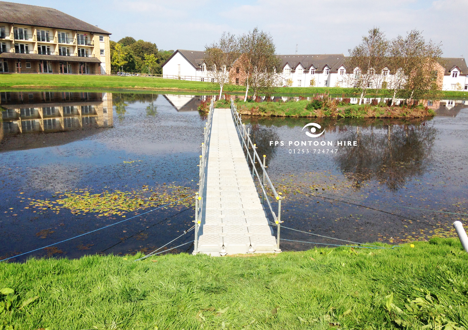 Floating Walkway Hire by Floating Pontoon Solutions
